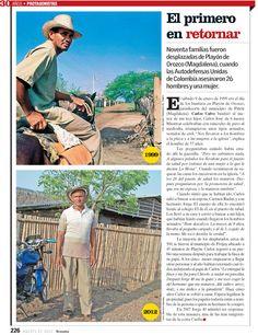 Sección: protagonistas. Edición 30 años de Revista Semana.