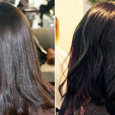 Here's How You Transform Brunette Hair To This Multicolor Trend