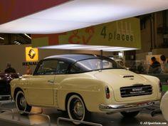 OG   1956 Renault 4CV Autobleu   This car will influence the Karmann-Ghia design.