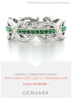 Enter to win a $250 gift card to Gemvara.com - Contest ends 6/30/13         LOVE THIS!!!