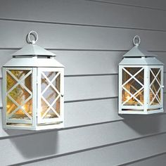Lattice Mirrored Lantern Set www.partylite.biz/tenatilk