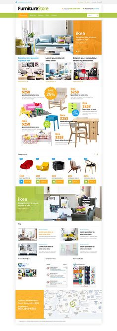 Furniture Online Store #Virtuemart #template. #themes #business #responsive