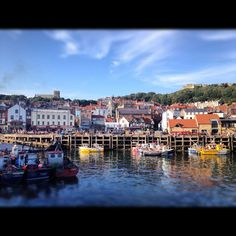 Scarborough Harbour (as in Scarborough Fair) in Yorkshire, England