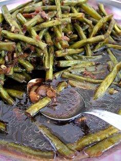 Adobong Sitaw (Filipino String Bean Adobo). alternate here: http://pinoy-cooking.com/recipes/11335-adobong-sitaw-with-pork.html or here: http://nanayjo.wordpress.com/2013/08/09/adobong-sitaw-string-beans-stew/ or here: http://www.bubblews.com/news/2831868-adobong-sitaw or here: http://www.pinoyrecipe.net/adobong-sitaw-string-bean-adobo-recipe/