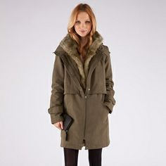Zip hood Parka | Coats and jackets | Comptoir des Cotonniers