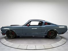 Ring Brothers 1966 Mustang. 602-horsepower 427 V8 under the hood bolted to a 6-speed Tremec transmission.