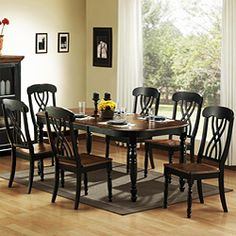 Mackenzie Casual Country Dining Set from overstock.com