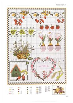 Cross Stitch Fruit, Small Cross Stitch, Cross Stitch Heart, Cross Stitch Cards, Cross Stitch Borders, Cross Stitch Alphabet, Cross Stitch Flowers, Cross Stitch Designs, Cross Stitching