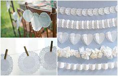 Doily Wedding Accessories, Decor & Ideas