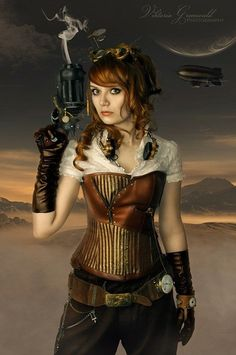 Steampunk girls Sexy Corsets are affordable, durable, fashionable, and healthy wearing
