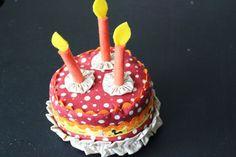 Jennifer Jangles Birthday Cake Pincushions — Therm O Web