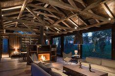 Alte Scheune definiert neue urige Schutzhütte in Lago Ranco, Chile (1)