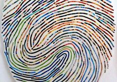 Short Stories: Thumbprint Portrait | seems that this could be a way for some people to tell their stories, post-trauma or even as a general narrative about one's life.