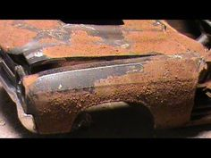 RUSTING MODEL CARS! HOW TO MAKE RUST POWDER... (◣_◢)