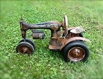 Image result for singer sewing machine tractors