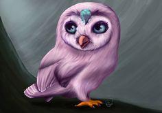 "project on @Behance: ""Owl"" https://www.behance.net/gallery/45159089/Owl art illustration painting digital painting nature birds"