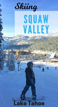Squaw Valley Ski Resort is the place to Ski Big with Olympic skiing, snow tubing and snow mobiles. Find where to take kids skiing in Lake Tahoe. California Destinations, California Travel, Northern California, Where To Take Kids, Places To Travel, Places To Visit, Ski Vacation, Vacation Ideas, Best Ski Resorts
