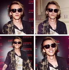 Jamie Campbell Bower at the Carrera Ignition Night.