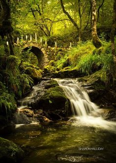 Faerie Bridge in Argyll, Scotland.