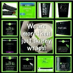 Wraps and many more call me if you'd like to try something and get my discount for 3 months 405-886-0822 chelsea cannett.myitworks.com