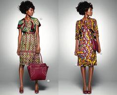 Along Mod Avenue: Delicate Shades: New Ankara Fabrics by Vlisco