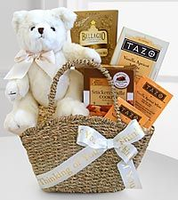 Simple Words of Sympathy - thinking of you gift basket