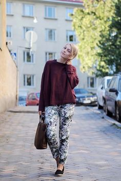 Floral pants | Photo: Jenni Rotonen / Pupulandia
