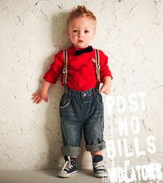 super cute outfit | love the suspenders and chucks