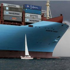 Maersk Triple-E: Positively impacting the environment while moving mountains of cargo.