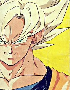 This is Goku, he is a fictional character from a cartoon called Dragonball Z. He taught children all over the world that perseverance can overcome any obstacle.