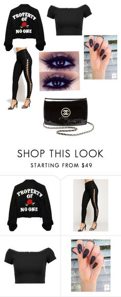 """""""Punk rock"""" by svwilliams ❤ liked on Polyvore featuring WearAll, Alice + Olivia and Chanel"""