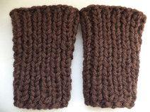 Stulpen 74/80 Merinowolle Wadenwärmer Baby Wolle
