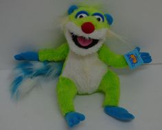 "Disney Bear in The Big Blue House TREELO Lemur Jim Henson's Plush 11"" NEW #Nanco http://stores.ebay.com/Lost-Loves-Toy-Chest/_i.html?image2.x=0&image2.y=0&_nkw=disney"