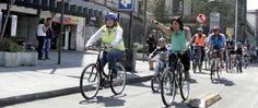 Estrena MH ciclovía en la México-Tacuba
