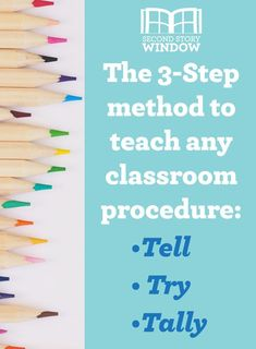 Establishing Classroom Procedures & Routines: A Back-to-School Plan for Success