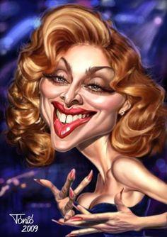 Caricature Madonna