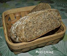 Mins cocina: Pan integral con avena y semillas de amapola