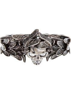 Alexander Mcqueen Winged Skull Ring - Smets - Farfetch.com ($353.00) - Svpply