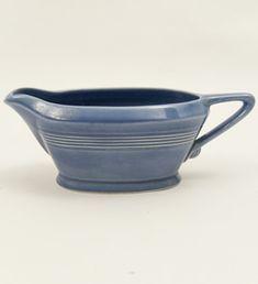 Vintage c1938-1942 Harlequin Pottery Sauce Boat $55