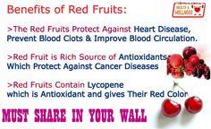 Red Fruits have many Benefits!!! http://ecuazon.com/health-wellness/