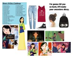 """1. Disney Favorite movie"" by mveltmuisenco on Polyvore featuring Disney en Converse"