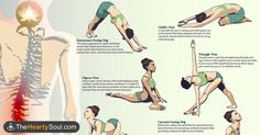8 yoga poses you can do in 8 minutes to relieve back pain : The Hearty Soul