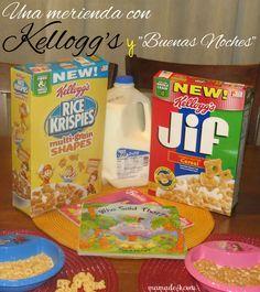 """Una merienda divertida siempre con Kellogg's y... """"Buenas Noches"""" #goodnightsnack #cbias #shop #CollectiveBias http://www.mamade4.com/?p=1007"""