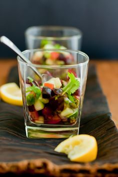 Cucumber Cherry Salsa