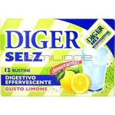 DIGESTIVO EFFERVESCENTE DIGER SELZ LIMONE SAN PELLEGRINO GR. 42