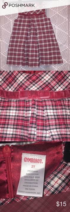 🎄🎁🎉 Gymboree 2T Red Plaid Girls Holiday Dress *Gymboree* 2T Red Plaid Girls Dress Gymboree Dresses Formal