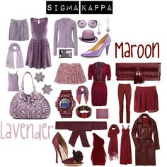 """Sigma Kappa Colors"" by deltagammacj on Polyvore"