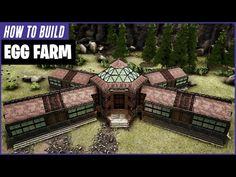 Wooden Pillars, Stone Pillars, Ark Survival Evolved Bases, Game Ark, Wooden Ramp, Egg Farm, Dinosaur Sketch, Conan Exiles, Stone Stairs