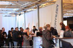 FAD2013 - PARIS-KØBENHAVN Festival entrance in Øksnehallen I More info: frenchartday.com