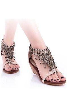 Beading Sandals